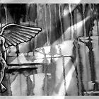 ANGEL OF CUPS - black 8 von ARTito