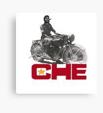 CHE GUEVERA MOTORCYCLE Canvas Print