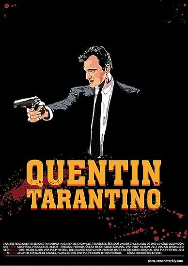 Tarantino Biography Poster by mcache