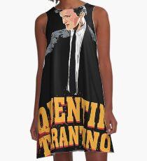 Tarantino Biography Poster A-Line Dress