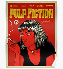 Cartel Uma Thurman, Pulp Fiction 10c Poster