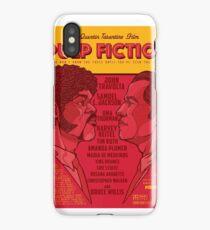 Marsellus y Vincent, Pulp Fiction cartel iPhone Case/Skin