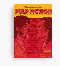 Marsellus y Vincent, Pulp Fiction cartel Canvas Print