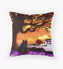 Great Oak of Tara Throw Pillow