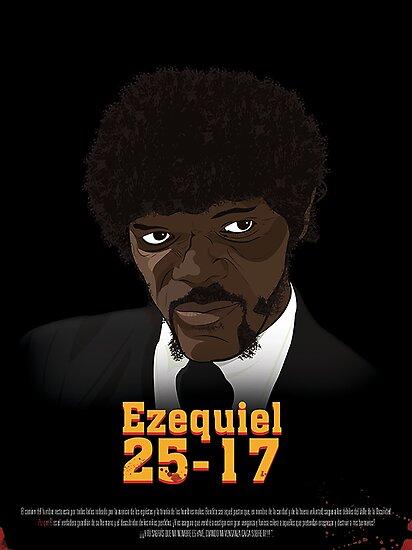 Poster Ezequiel 25-17 by mcache