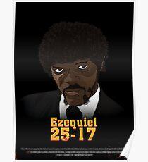 Poster Ezequiel 25-17 Poster