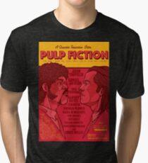 Marsellus y Vincent, Pulp Fiction cartel Tri-blend T-Shirt