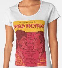 Marsellus y Vincent, Pulp Fiction cartel Women's Premium T-Shirt