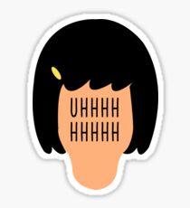 Tina Head Butts Sticker