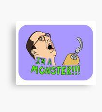 Arrested Development - Buster - Hook / I'm A Monster Canvas Print