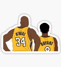 Kobe and Shaq Sticker