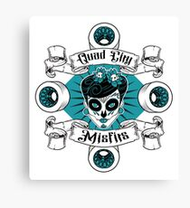 Quad City Misfits Canvas Print