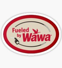 Fueled By Wawa Sticker
