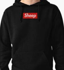 Sheep Box Logo Parody Pullover Hoodie