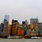 nyc skyline by jenlinhua
