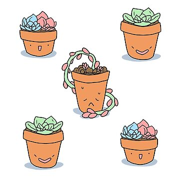 Succulent Buddies (pattern) by geothebio