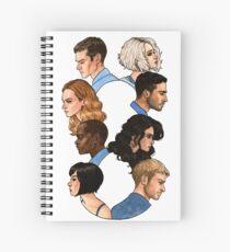 Sense8  Spiral Notebook