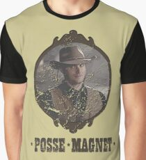 Dean Winchester is a Posse Magnet Graphic T-Shirt