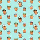 Succulent Buddies (pattern) by geothebio