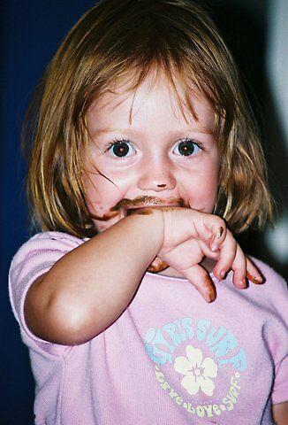 Chocolate girl by Benzo