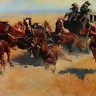Work after Frederic Remington by Van Cordle