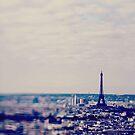 Lensbaby Paris Eiffel Tower  by Nicola  Pearson