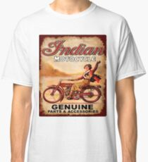 Indian Motorcycle Genuine Part's & accessories Vintage Rusty Antique T-Shirt Classic T-Shirt