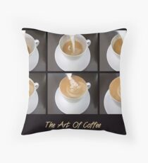 The Art Of Coffee Throw Pillow