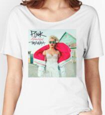 P!NK Beautiful Trauma Women's Relaxed Fit T-Shirt