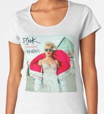 P!NK Beautiful Trauma Women's Premium T-Shirt