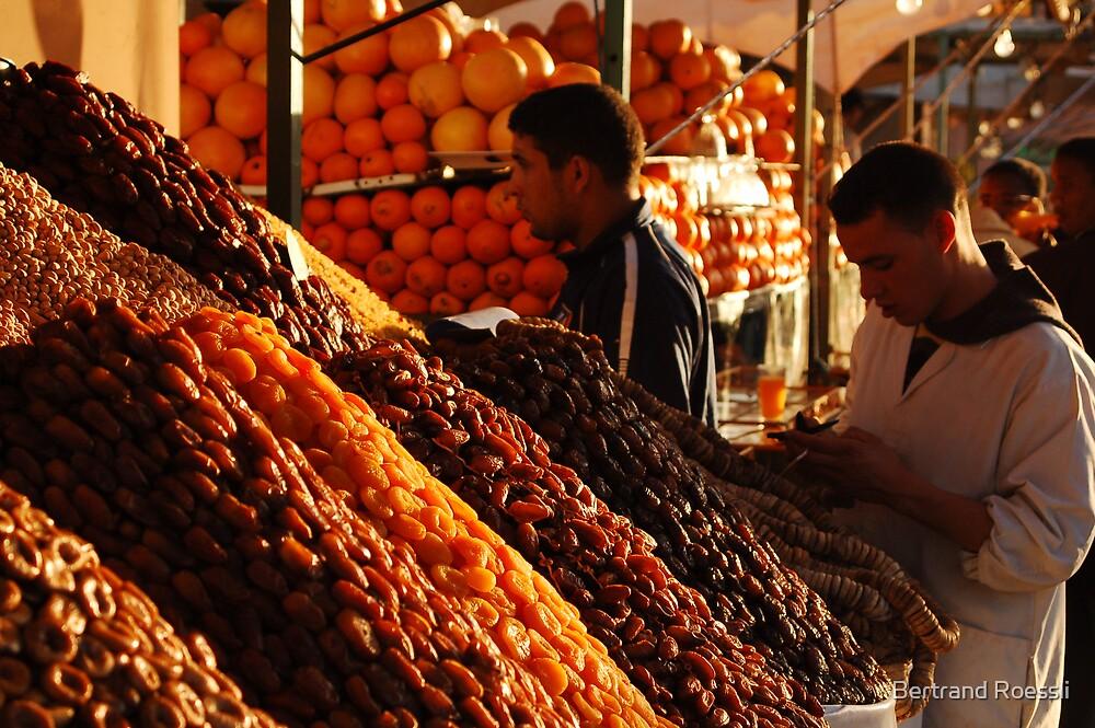 Dried fruits by Bertrand Roessli