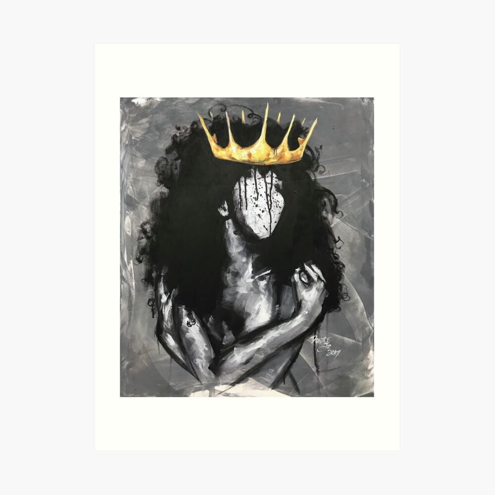 Natürlich Königin IV Kunstdruck