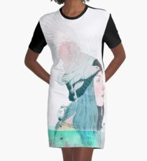 SEA AND AIR by elenagarnu Graphic T-Shirt Dress