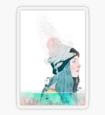 SEA AND AIR by elenagarnu Transparent Sticker