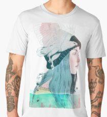SEA AND AIR by elenagarnu Men's Premium T-Shirt