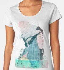 SEA AND AIR by elenagarnu Women's Premium T-Shirt