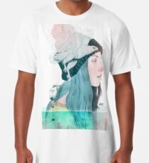 SEA AND AIR by elenagarnu Long T-Shirt