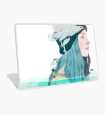 SEA AND AIR by elenagarnu Laptop Skin