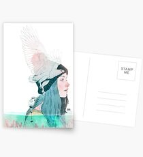 SEA AND AIR by elenagarnu Postcards