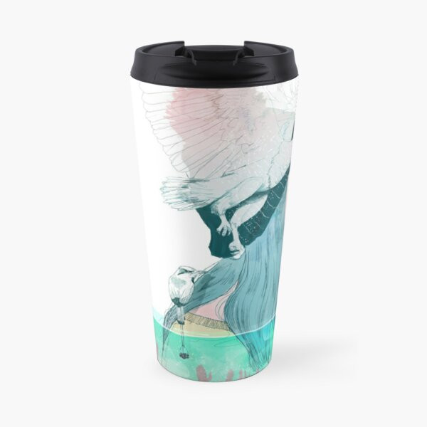 SEA AND AIR by elenagarnu Travel Mug