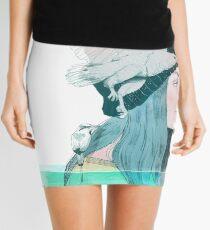 SEA AND AIR by elenagarnu Mini Skirt