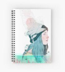 MAR Y AIRE by elenagarnu Cuaderno de espiral