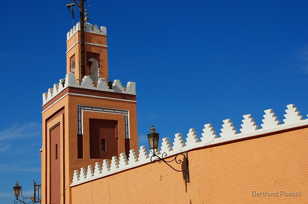 Colorful Marrakesh by Bertrand Roessli
