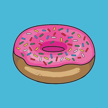 Sprinkle Donut by GeekCupcake