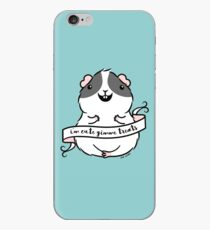 Guinea-pig - I'm Cute Gimme treats iPhone Case