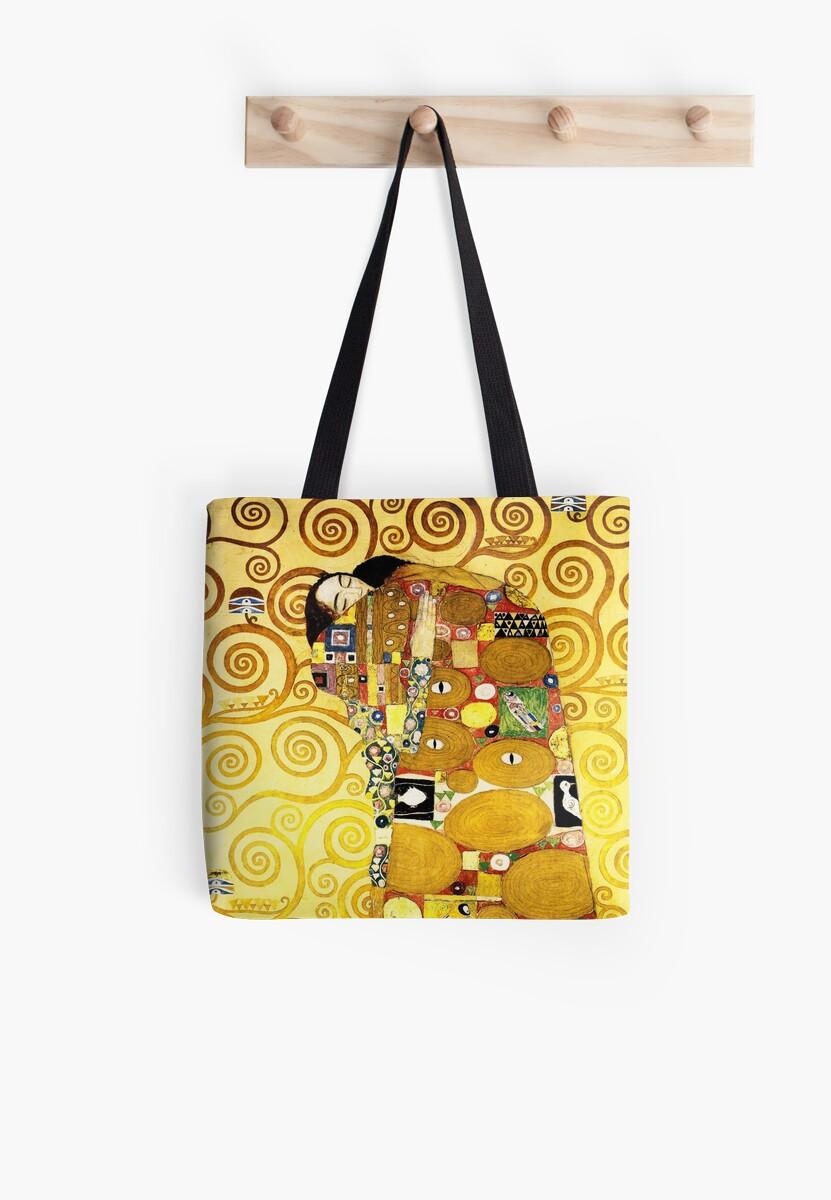 Gustav Klimt The Embrace Tote Bag