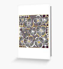 Mustard and magnolia Greeting Card