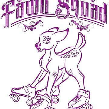 Fawn Squad - purple by quadcitymisfits