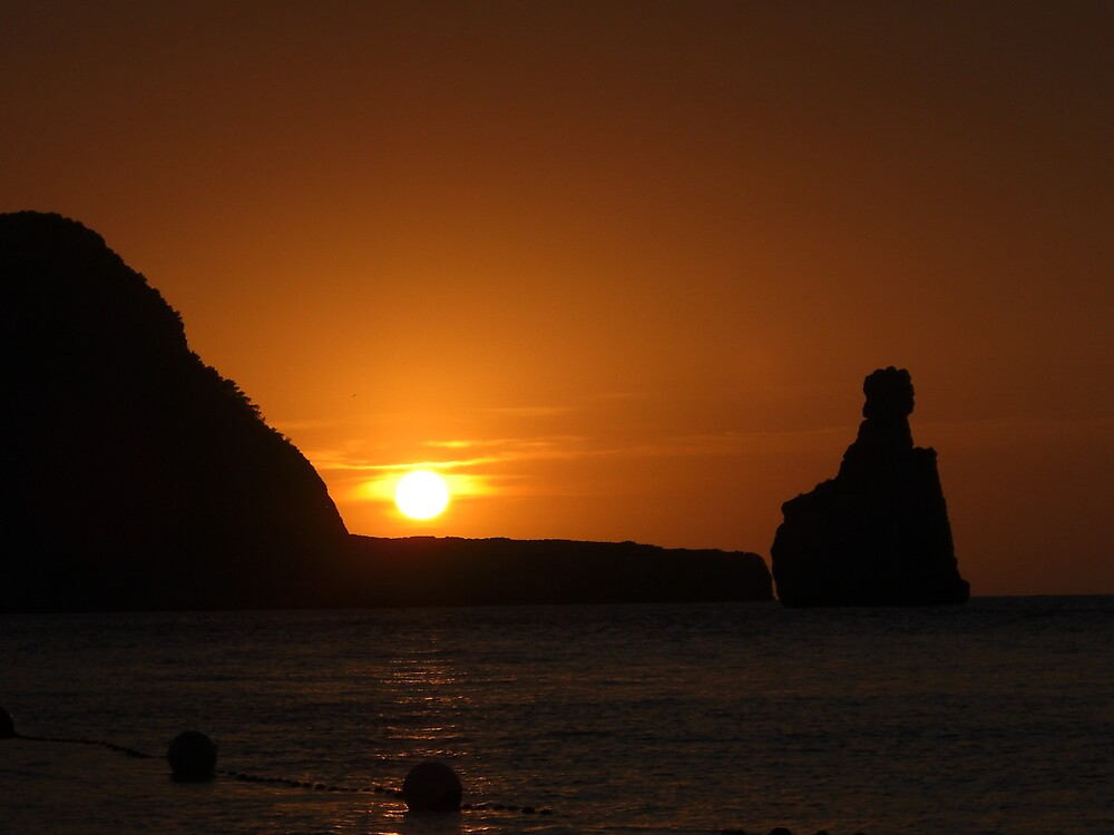 Cala Basa Sunset 3 by Lee Everall