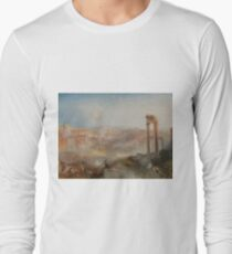 Modern Rome - Campo Vaccino by J.M.W. Turner Long Sleeve T-Shirt